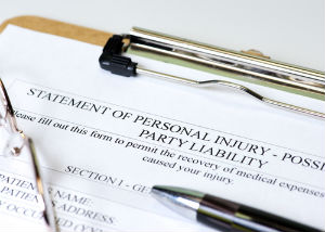 A personal injury accident form filed in New Braunfels.